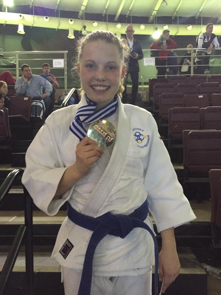 Isabelle vinner Junior VM!