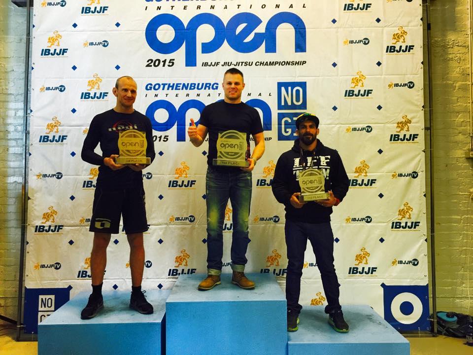 Resultat från Gothenburg Open