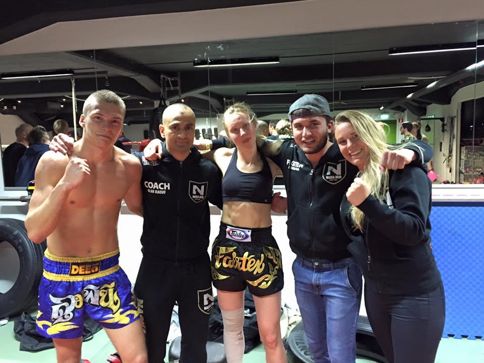 Tre vinster i thaiboxning!