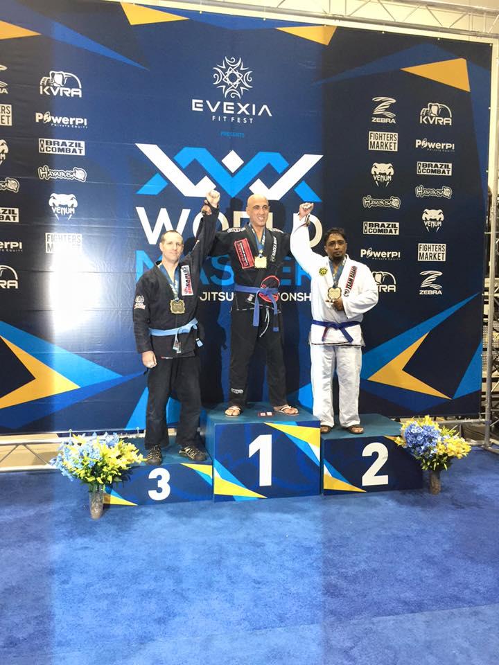 Mike Tajik är världsmästare!