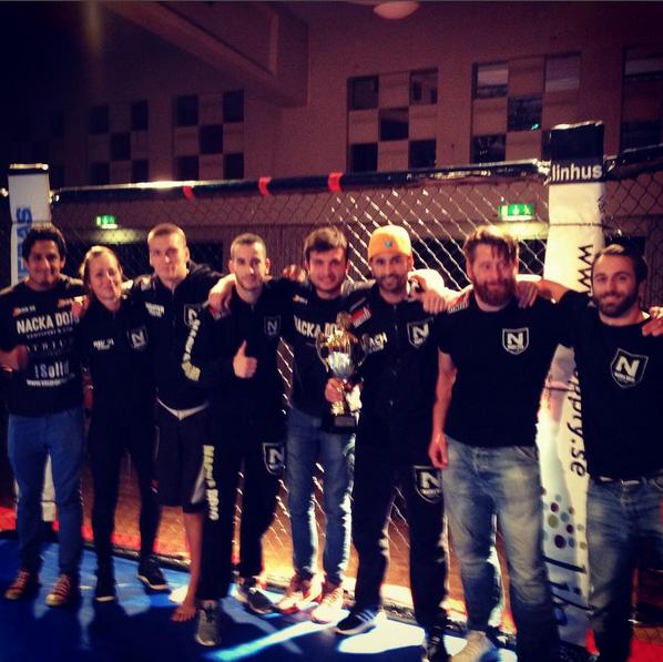 9 MMA fighters tävlar på lördag