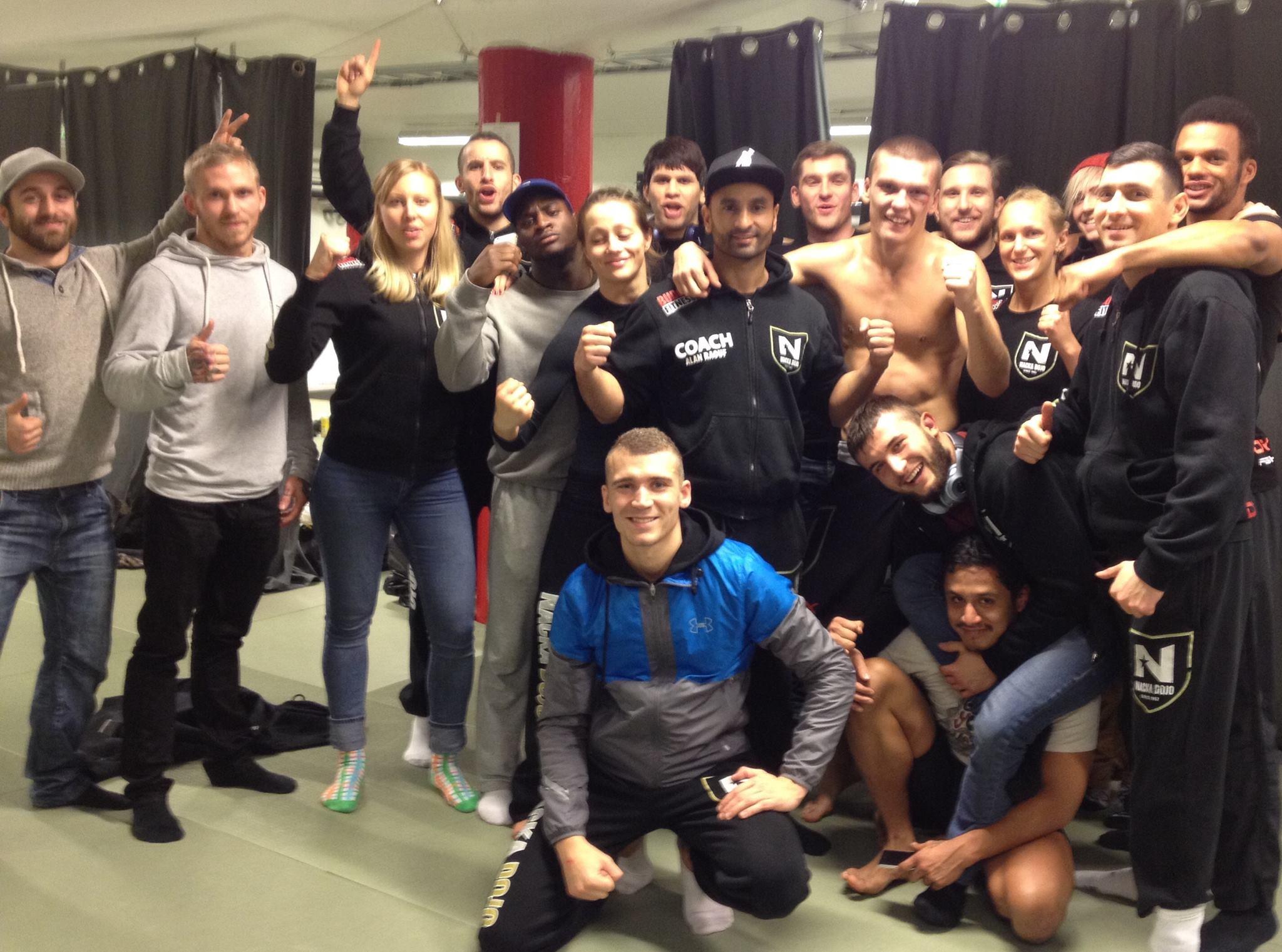 Resultat från helgens MMA tävling
