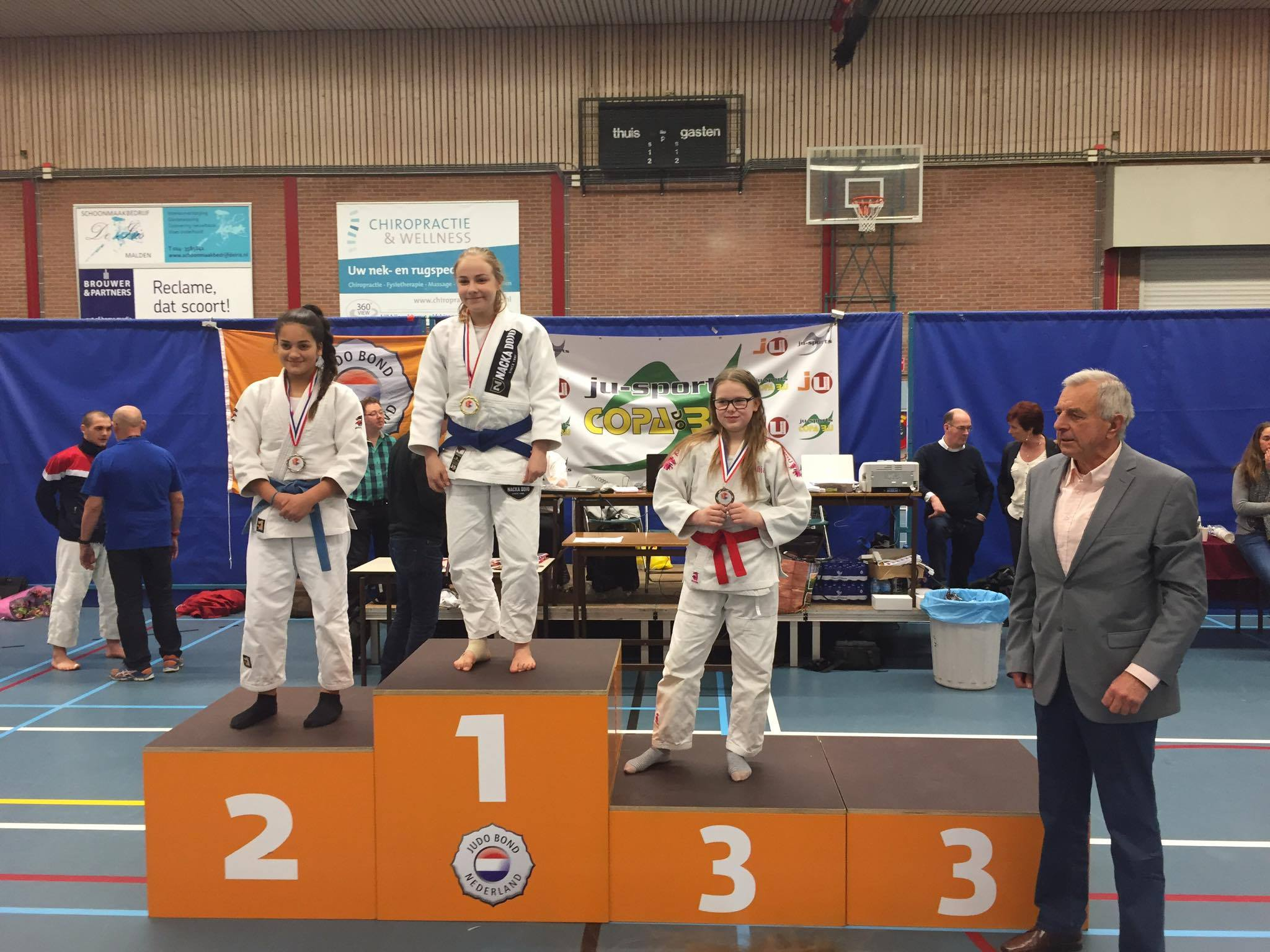 Medaljer på Dutch Open i Sport JJ