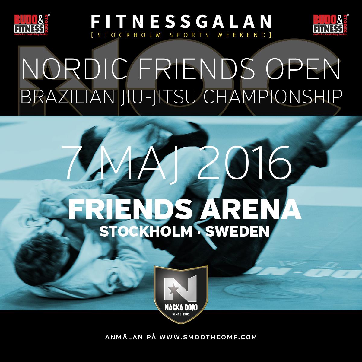 Crew behövs till Nordic Friends Open