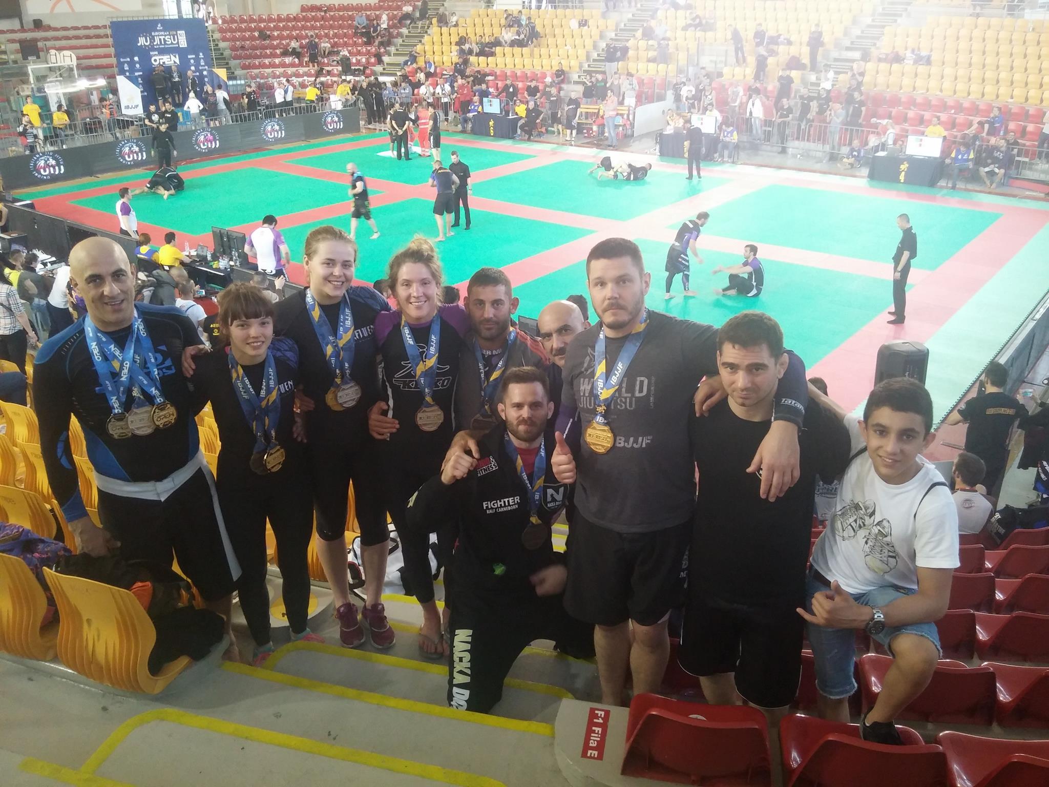 Medaljregn på Rome BJJ Open och NoGi EM