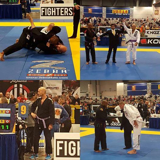 Medalj på World Master Jiu-Jitsu IBJJF Championship, Las Vegas