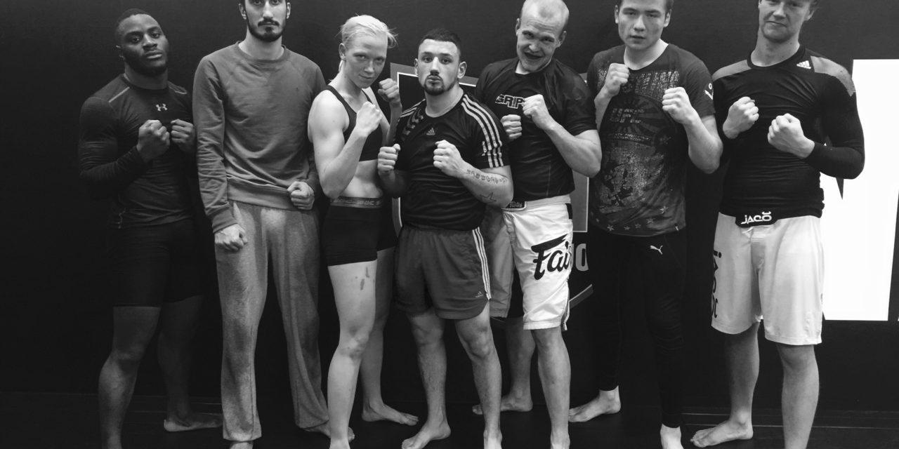 11 MMA fighters på Shoot Challenge 23