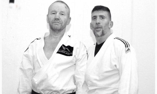 Självförsvarsträning med Ingemar och Carlos