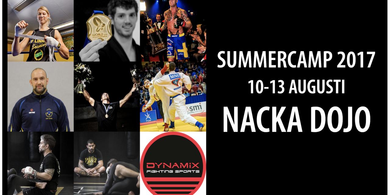 Anmälan är öppen till sommarlägret 2017!