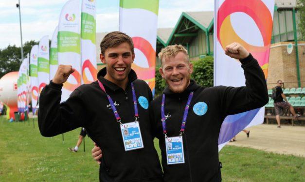 Dubbla brons på World Games!