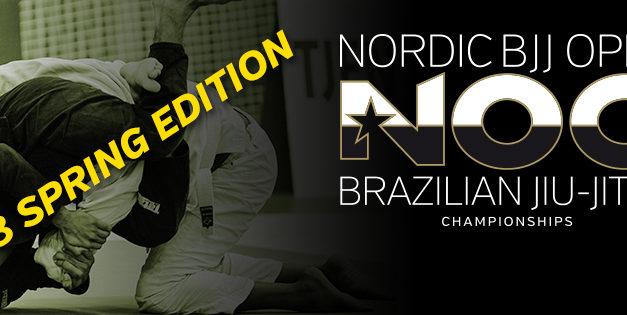 Det är dags att anmäla sig till Nordic BJJ Open för crew och tävlanden